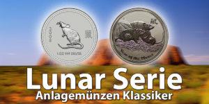 Australische Lunar Silber und Goldmünzen — Die beliebtesten Anlagemünzen ( Lunar-Serie I und II )