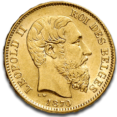 About the 20 Francs Belges Gold Coin