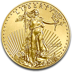 US Gold Eagle Liberty 2012