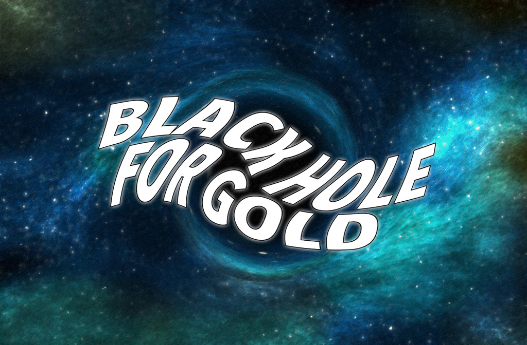 Black hole for gold price