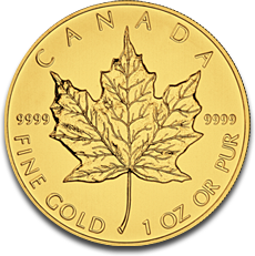 About the Canadian Gold Maple Leaf
