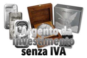 L'Argento da investimento senza IVA — Fatti generali sull'argento da investimento