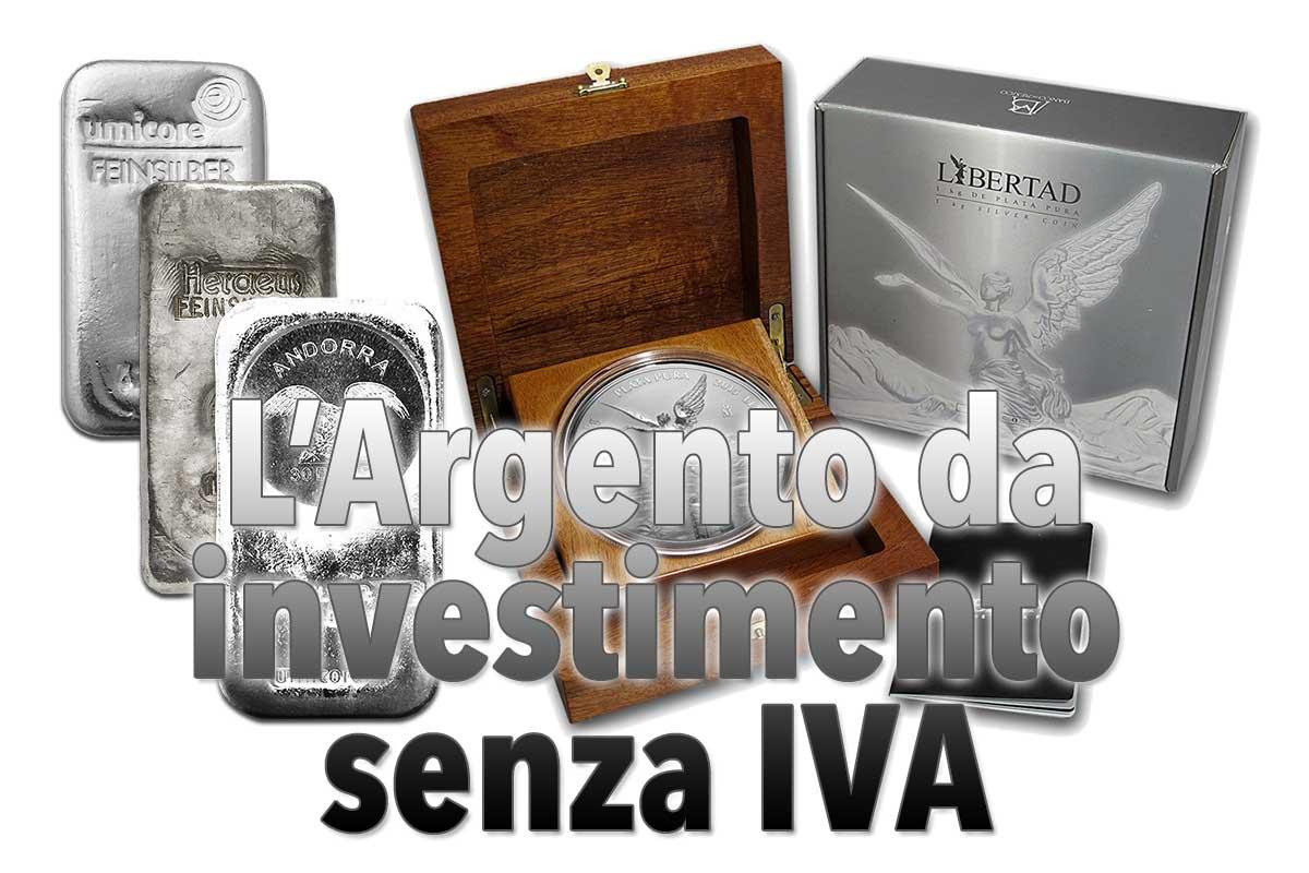 Lu0027Argento Da Investimento Senza IVA U2014 Fatti Generali Sullu0027argento Da  Investimento