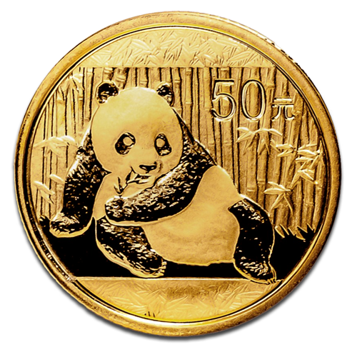 1/10 oz China Panda | Gold | 2015