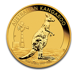 1/10 oz Nugget Kangaroo | Gold | 2012