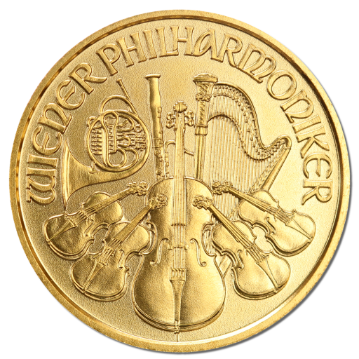 1/10 oz Wiener Philharmoniker | Gold | 2017