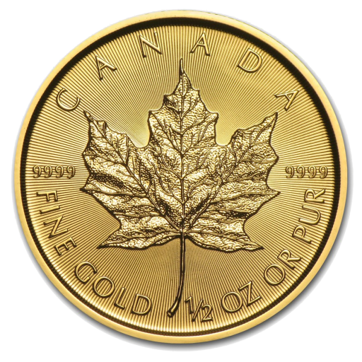 1/2 oz Maple Leaf | Oro | 2017