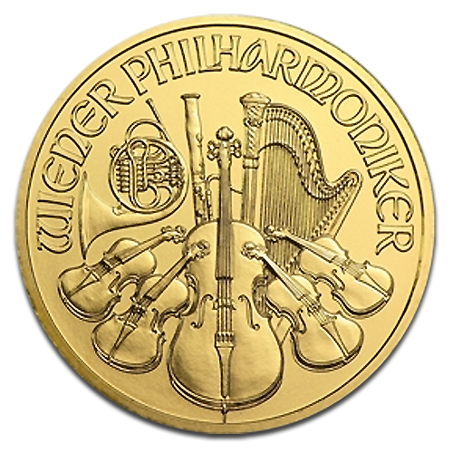 1/2 oz Wiener Philharmoniker | Gold | 2014