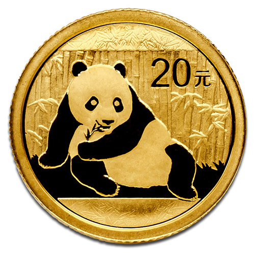 1/20 oz Panda Chinois | Or | 2015