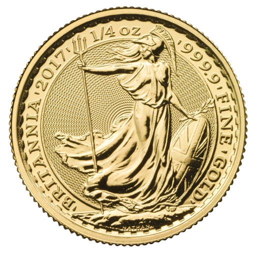 1/4 oz Britannia Gold Coin (2017)