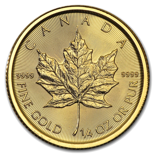 1/4 oz Maple Leaf | Or | 2017