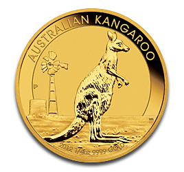 1/4 oz Nugget Kangourou | Or | 2012