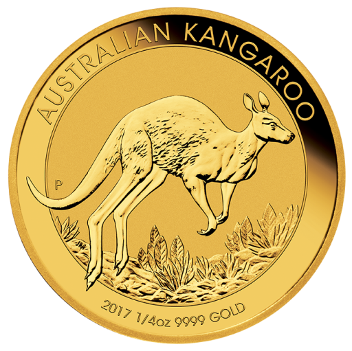 1/4 oz Nugget Kangaroo | Gold | 2017