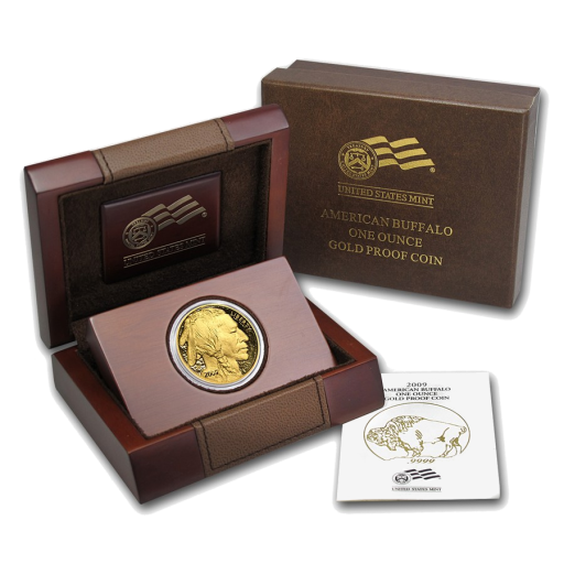 1 oz American Buffalo | Gold | 2009 | Proof | Holzbox
