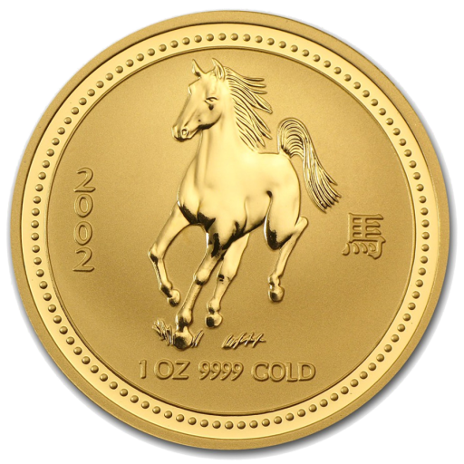 1 oz Lunar I Cheval | Or | 2002