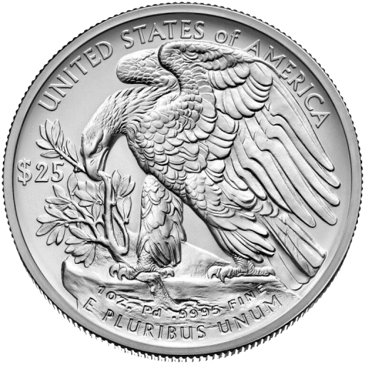 1 oz American Eagle | Paladio | 2017