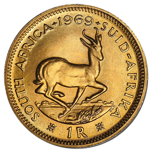 1 Rand Sud-Africaine | Or | 1961-1983