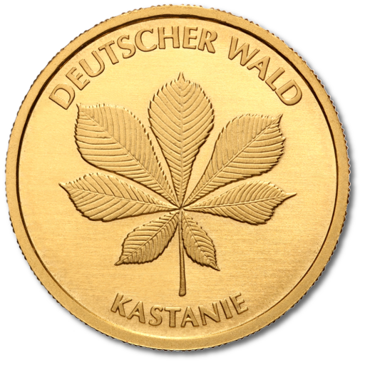 20 Euro German Forest Chestnut | Gold | 2014 | without certificate