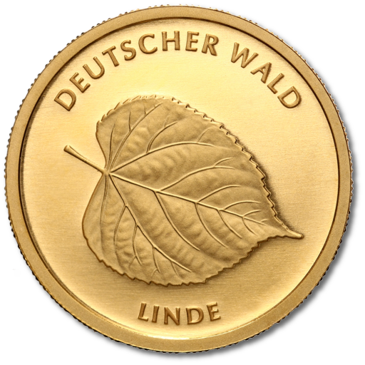 20 Euro German Forest Linden Tree | Gold | 2015 | Mintmark G