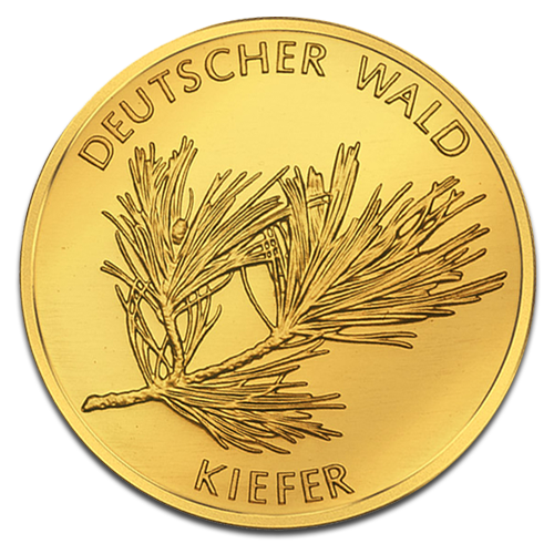 20 Euro German Forest Pine | Gold | 2013