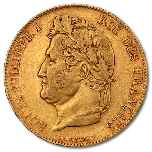 20 Franc Louis Philippe I | Gold | 1830-1848