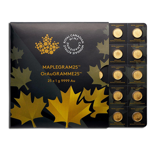 25 x 1g MapleGram25 | Oro | 2015