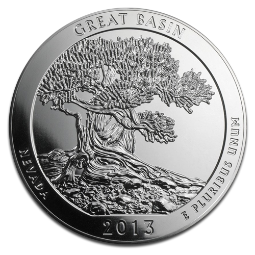 5 oz America the Beautiful - Great Basin National Park, Nevada | Silber | 2013