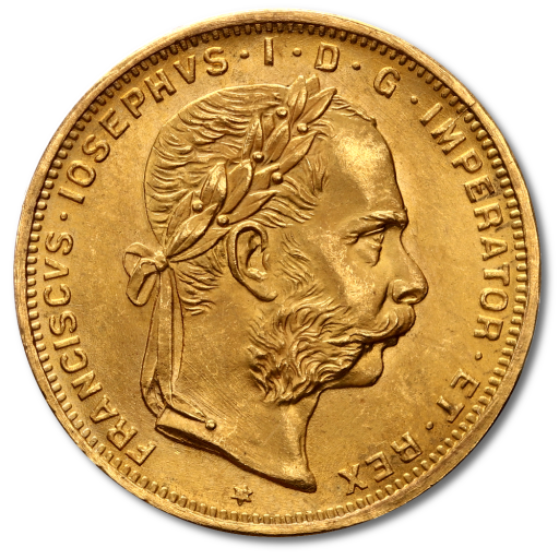8 Florin 20 Francs | Gold | New Edition
