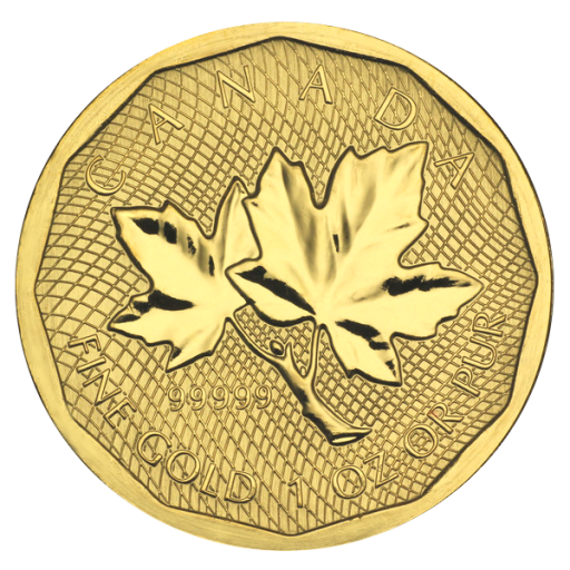 1 oz Maple Leaf | Oro 999.99/1000