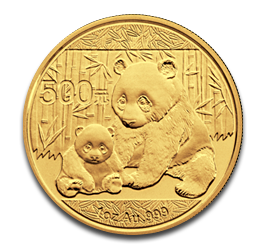 1 oz China Panda | Gold | 2012