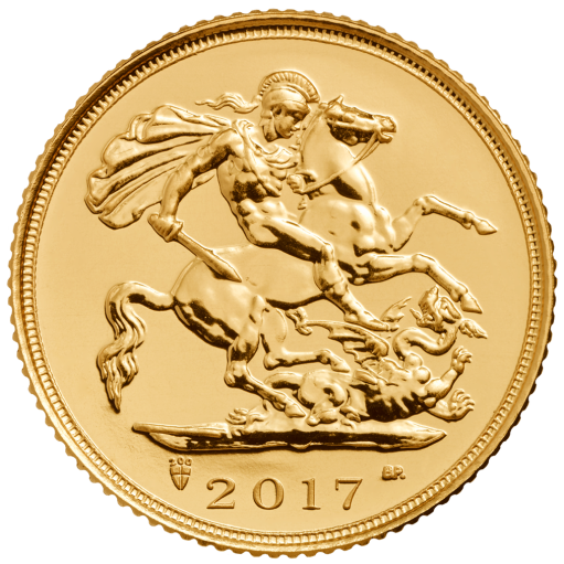 Halber Sovereign Elisabeth II. | Gold | 2017