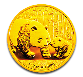 1/2 oz China Panda | Gold | 2011