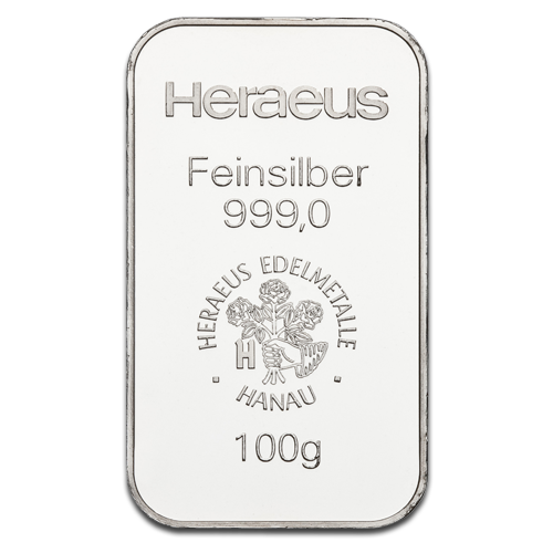 100g Silver Bar | different manufacturers