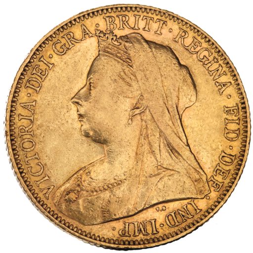 Sovereign Victoria Old Head Gold 2nd choice | 1893-1901