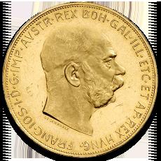 100 Kronen Gold Coin