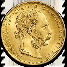 8 Florin 20 Francs