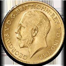 Full Sovereign Georg V