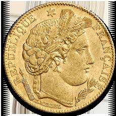 10 Francs Francais Gold Coin