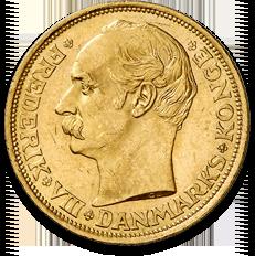 Danish 20 Kroner Frederik VIII