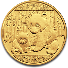 About The Gold China Panda Coin