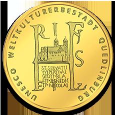 100 Euro Quedlinburg Gold Coin