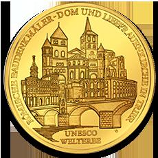 100 Euro Trier Gold Coin Characteristics