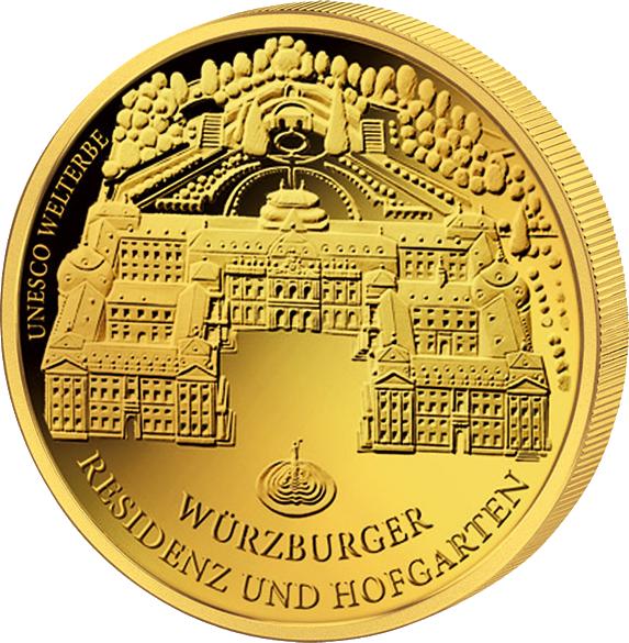 100 euro wuerzburg gold coin