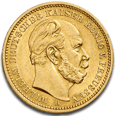 20 Mark Preussen Wilhelm I Historic Coin