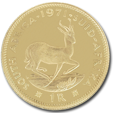 1 Rand Gold Coin