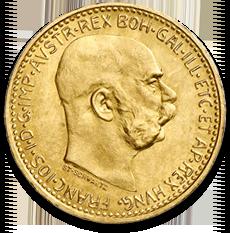10 Kronen Gold Coin