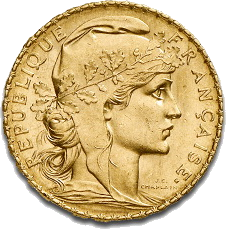 20 Francs Francais Gold Coin