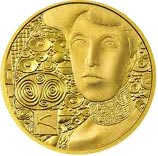 Klimt Golden Adele Gold Coin