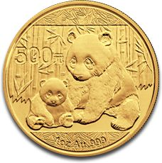 China Panda 1oz Gold Coin F