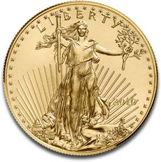 American Eagle 1oz Gold Coin F